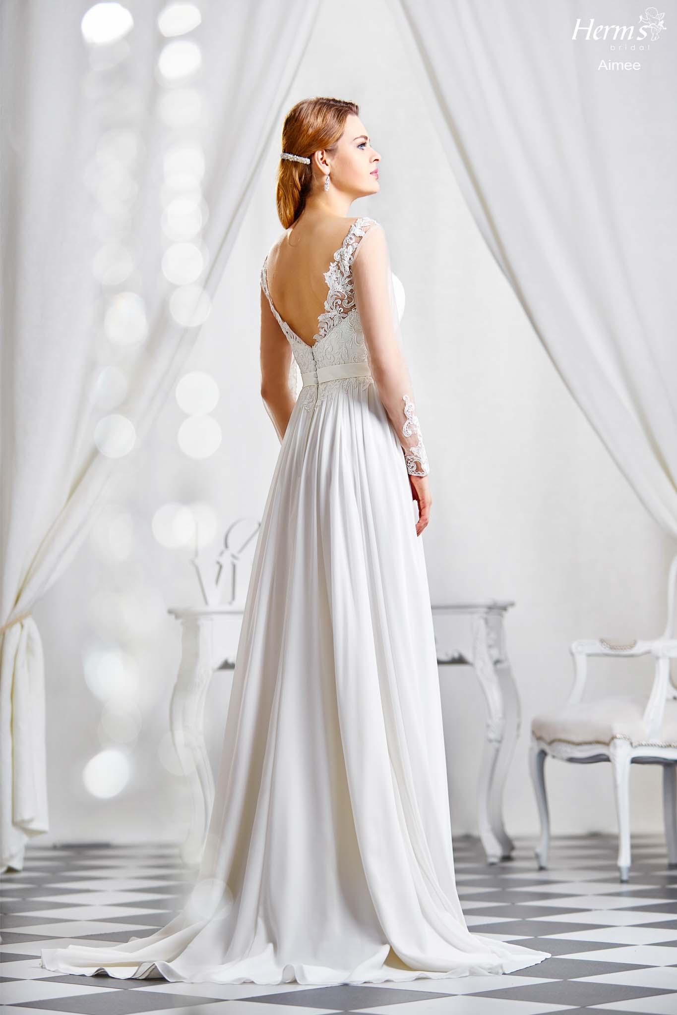 wedding dress Herm's Bridal Aimee