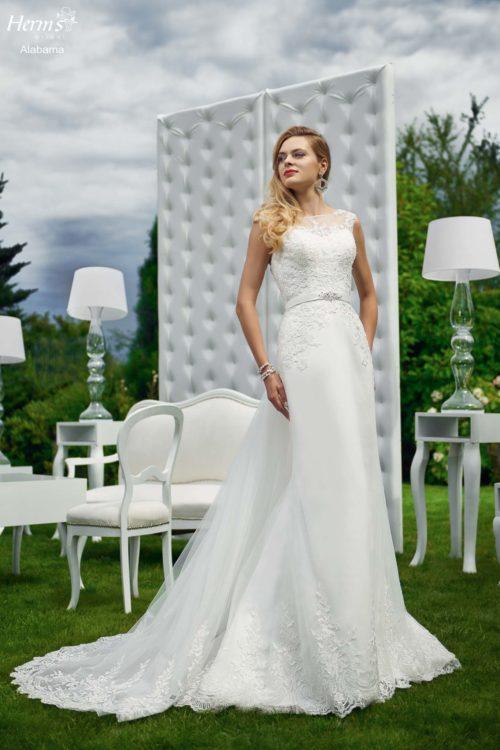 wedding dress Herm's Bridal Alabama