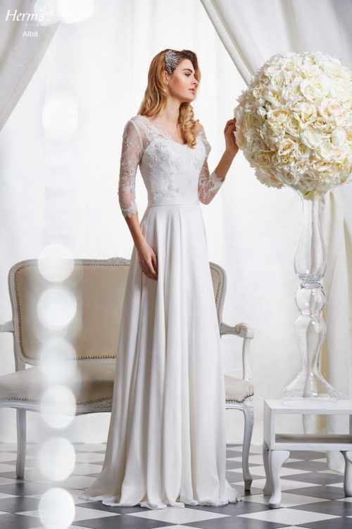 wedding dress Herm's Bridal Albit