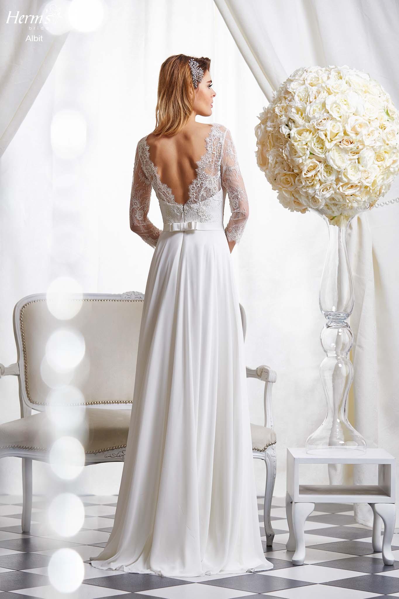 wedding dress Herm's Bridal Albit