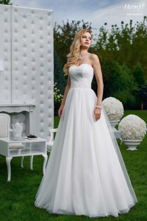 wedding dress Herm's Bridal Alexandrite