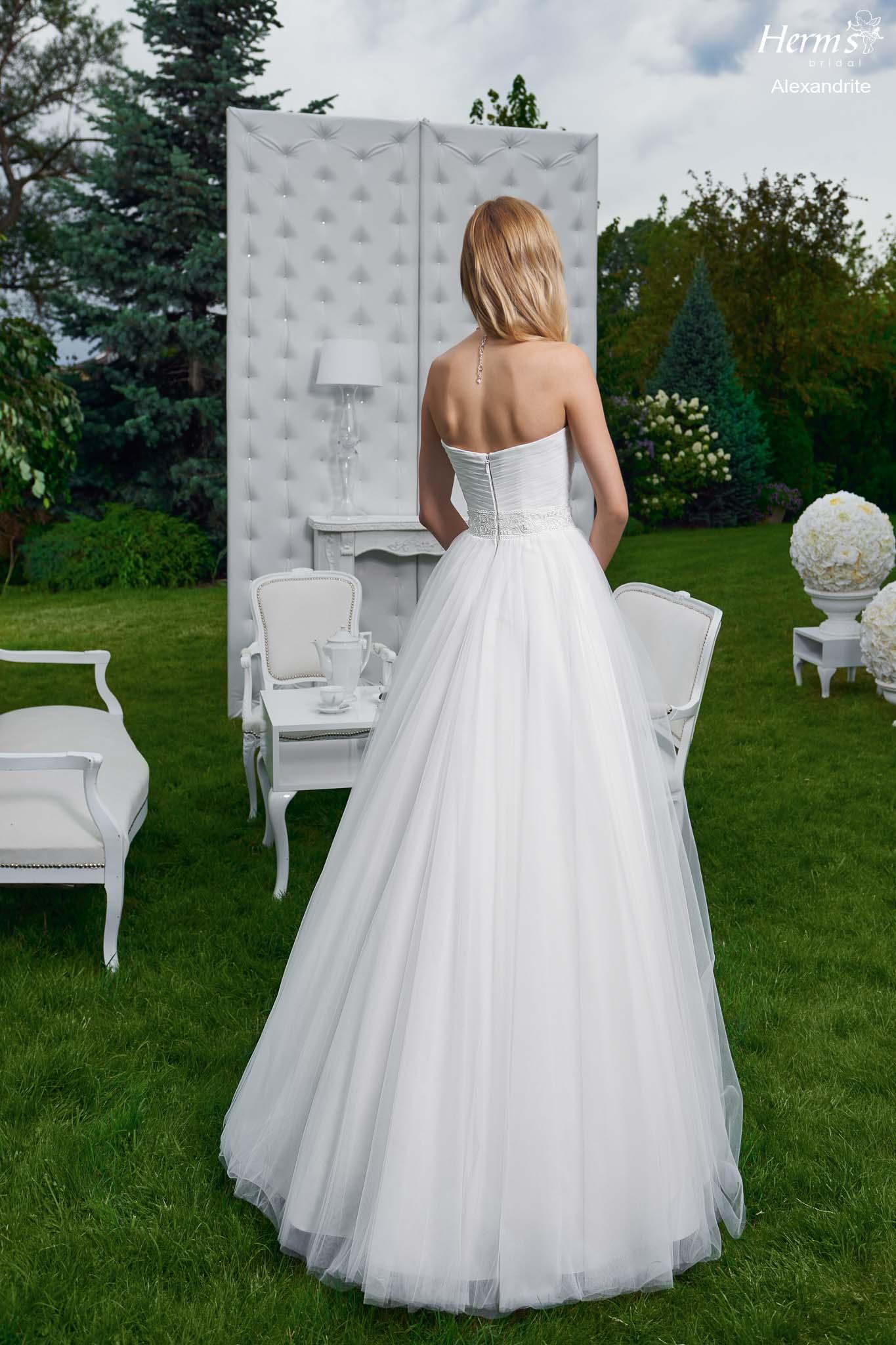 wedding dress Herm's Bridal Alexandrite