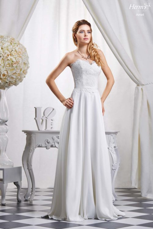 wedding dress Herm's Bridal Amet