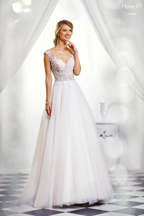wedding dress Herm's Bridal Aprille
