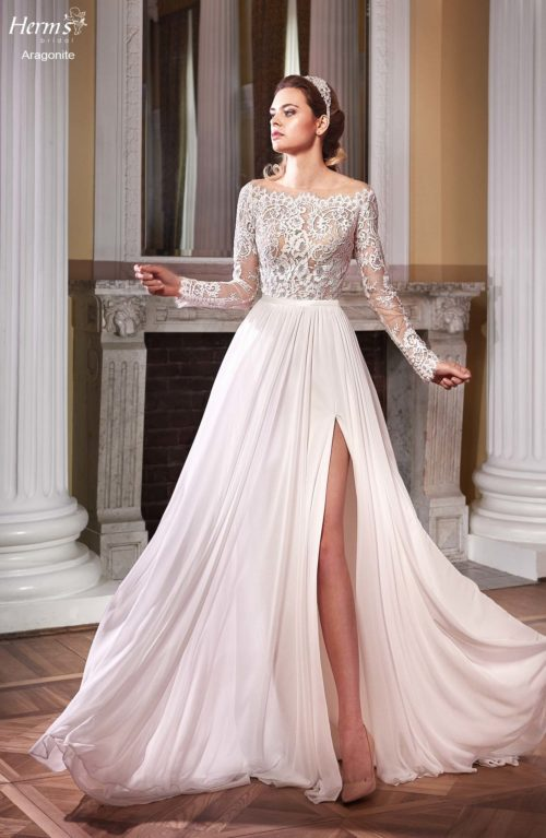 wedding dress Herm's Bridal Aragonite