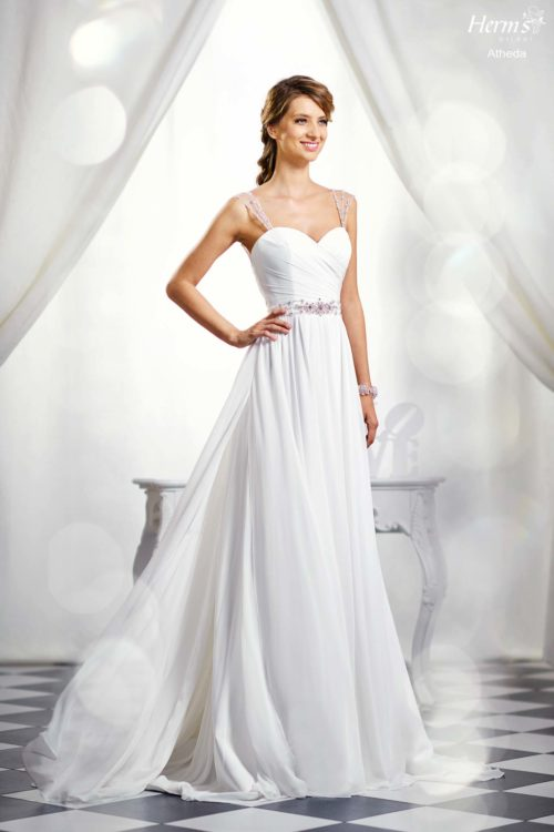 wedding dress Herm's Bridal Atheda