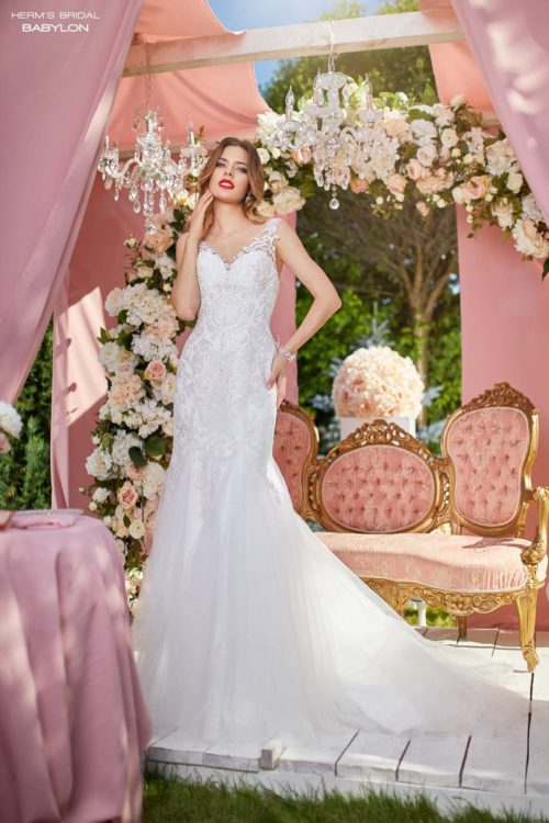 wedding dress Herm's Bridal Babylon
