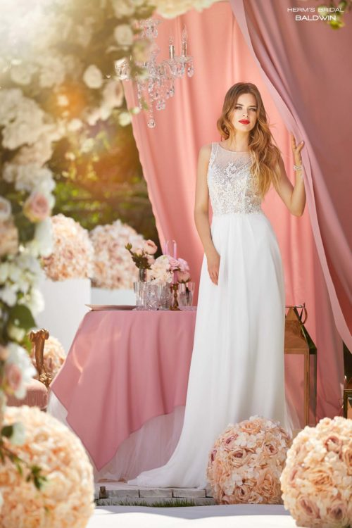 wedding dress  Herm's Bridal Baldwin