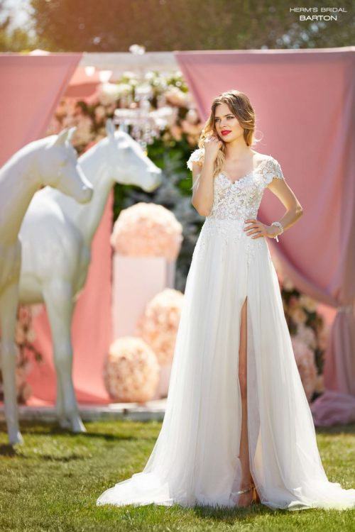 wedding dress Herm's Bridal Barton