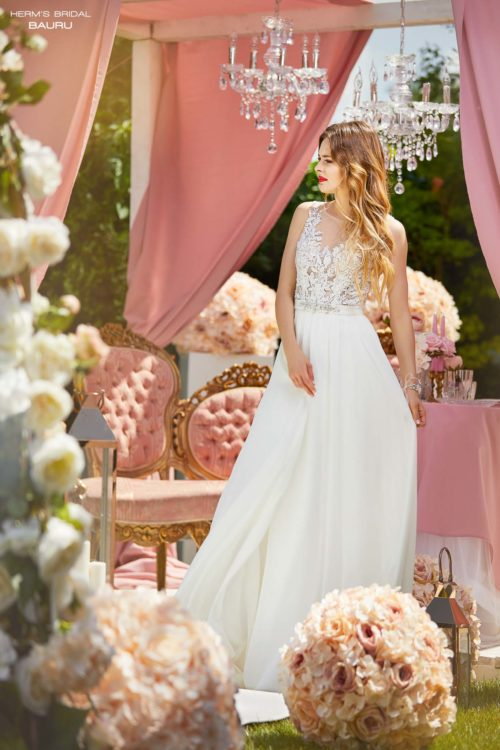 wedding dress Herm's Bridal Bauru