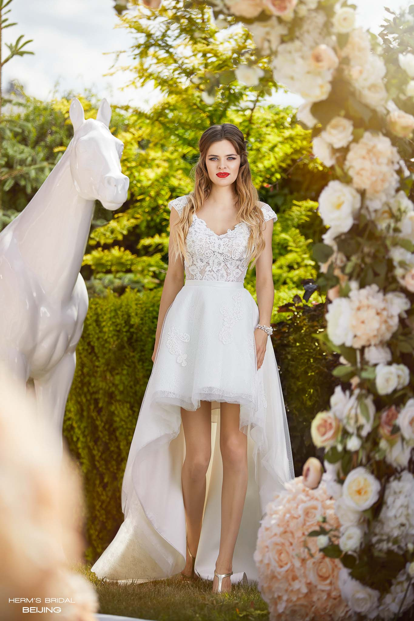 wedding dress Herm's Bridal Beijing