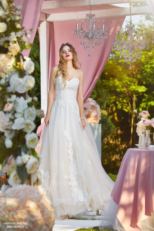 wedding dress Herm's Bridal Beverly