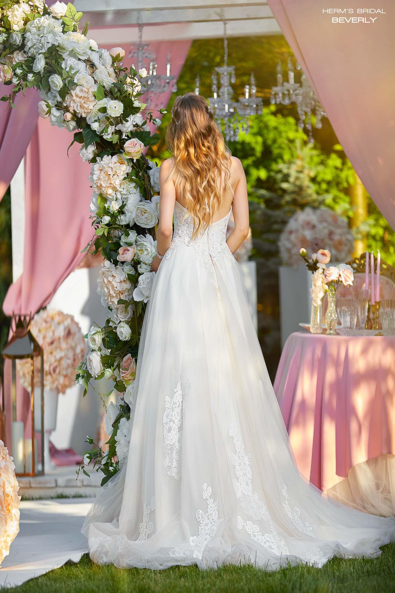 wedding dress Herm's Bridal Beverly