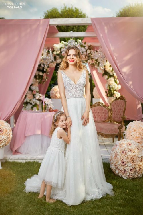 wedding dress Herm's Bridal Bolivar