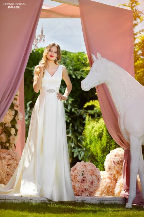 wedding dress Herm's Bridal Brasil