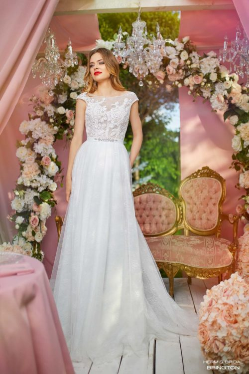 wedding dress Herm's Bridal Brington