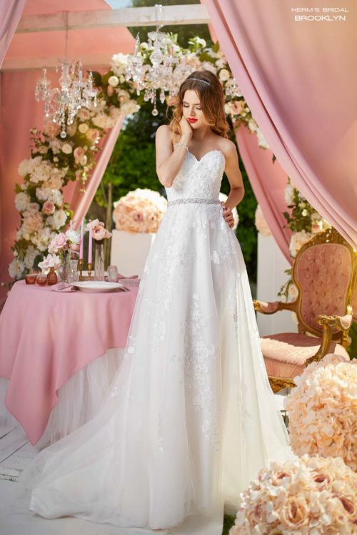 wedding dress Herm's Bridal Brooklyn
