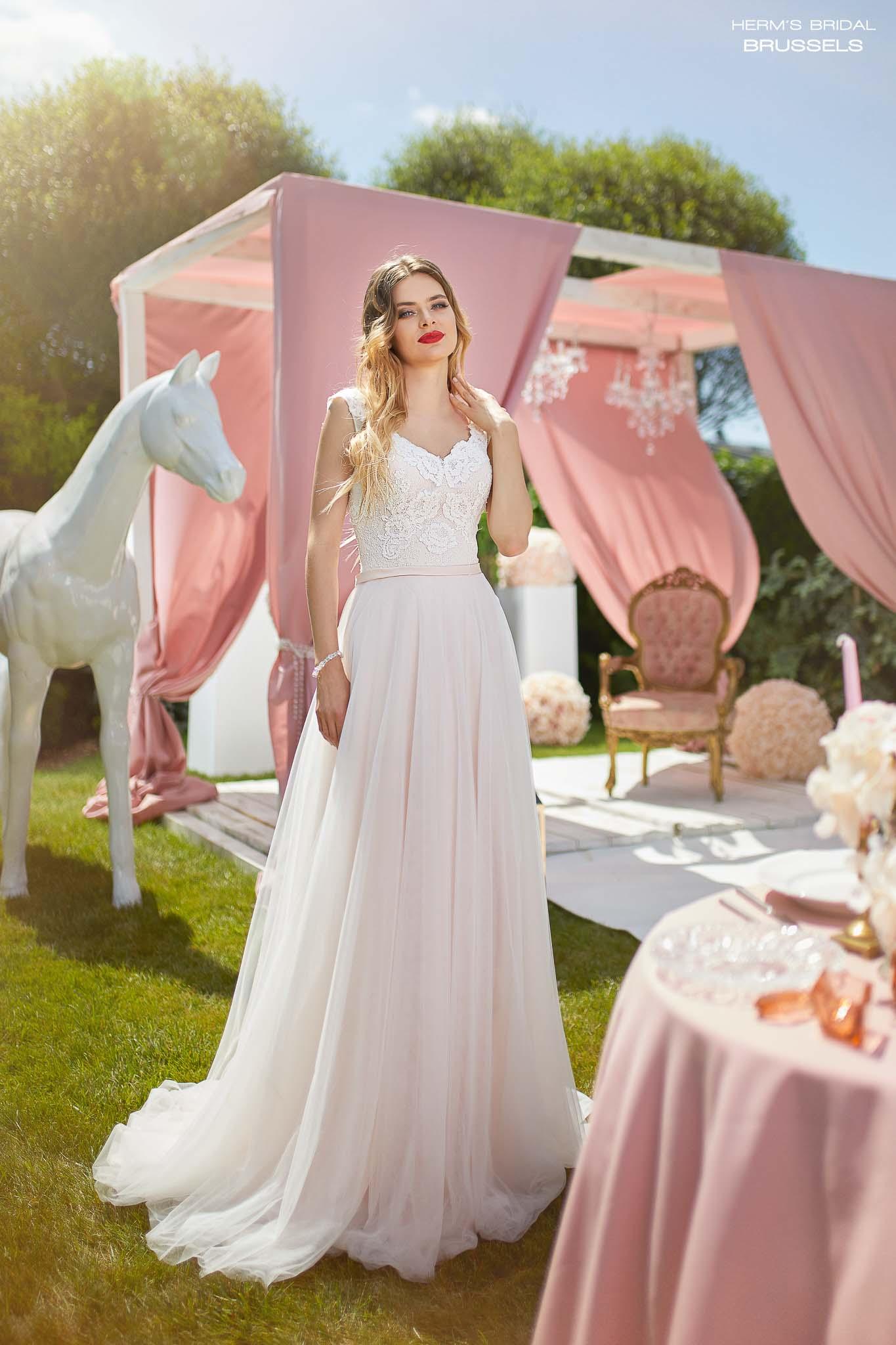 wedding dress Herm's Bridal Brussels