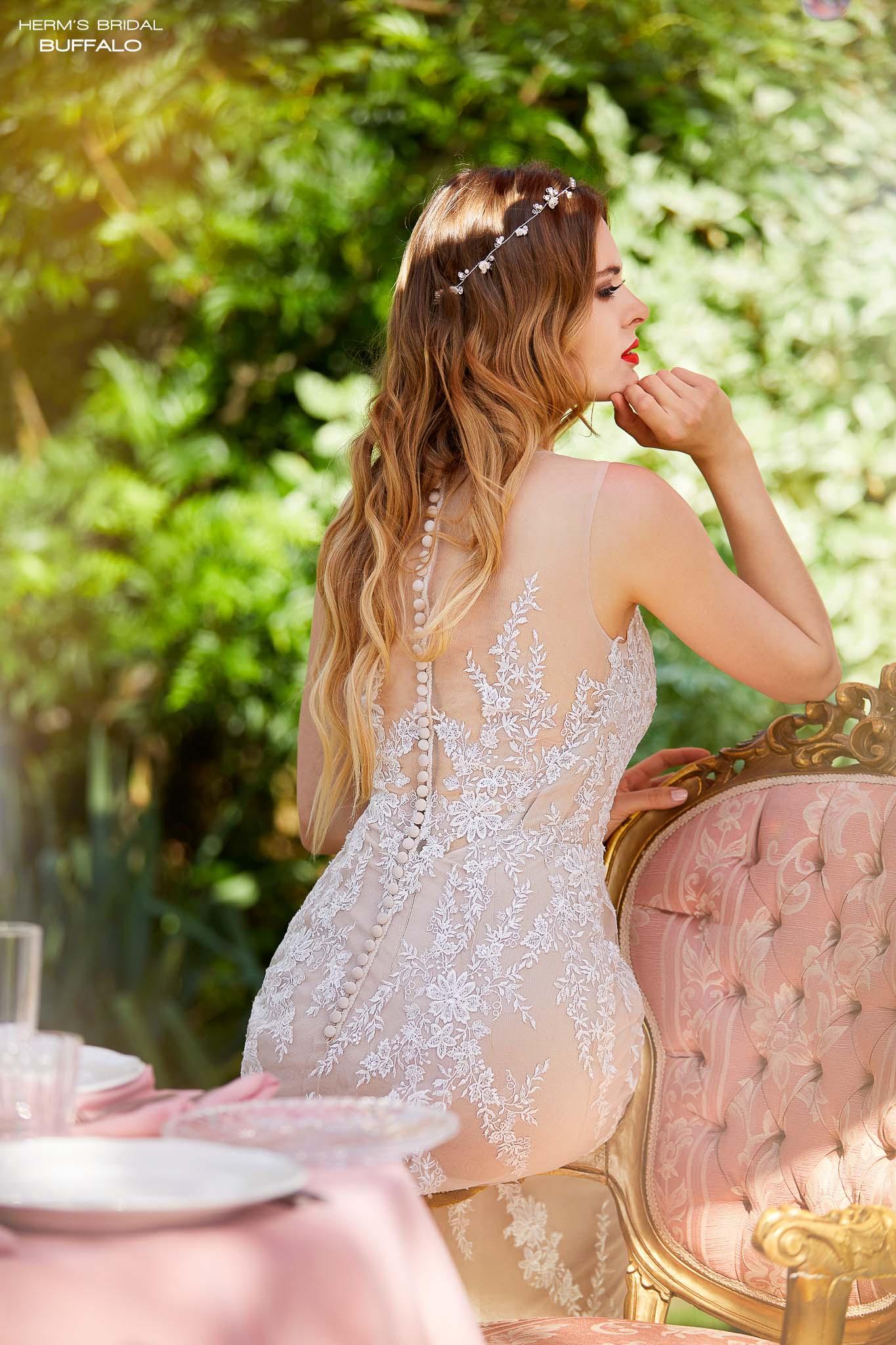 wedding dress Herm's Bridal Buffalo