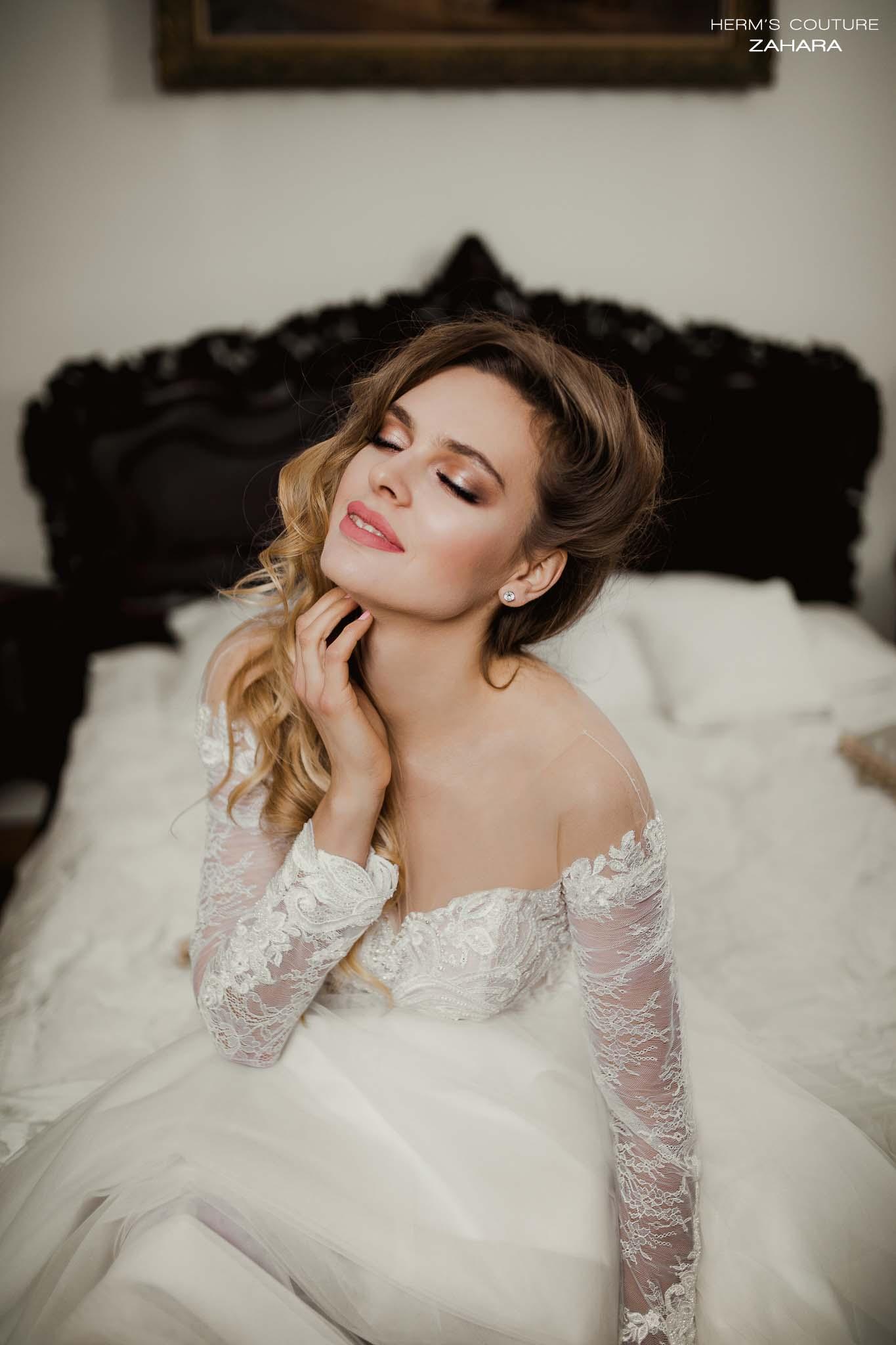 wedding dress Herm's Couture Zahara