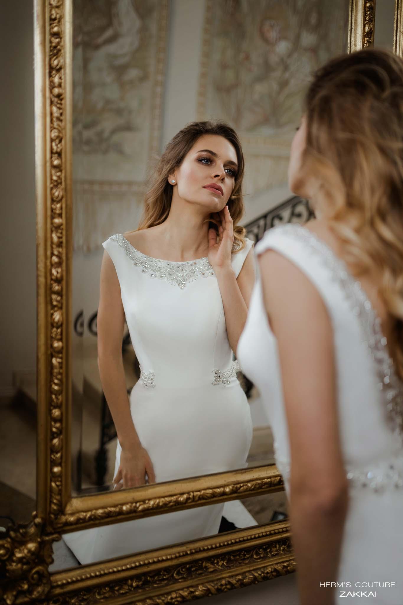 wedding dress Herm's Couture Zakkai