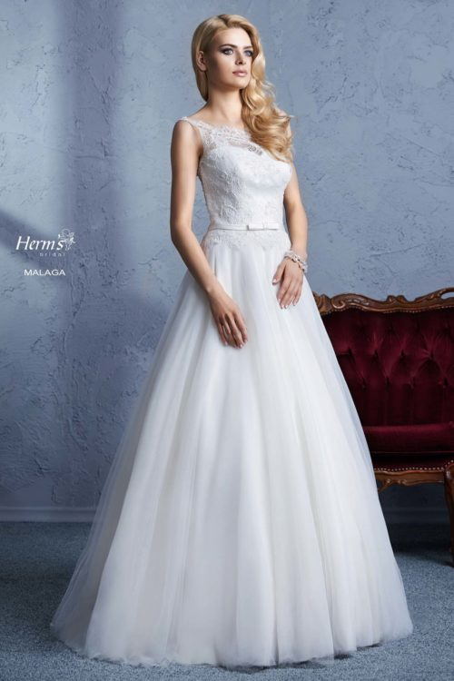 wedding dress Herm's Bridal Malaga