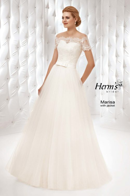 wedding dress Herm's Bridal Marisa