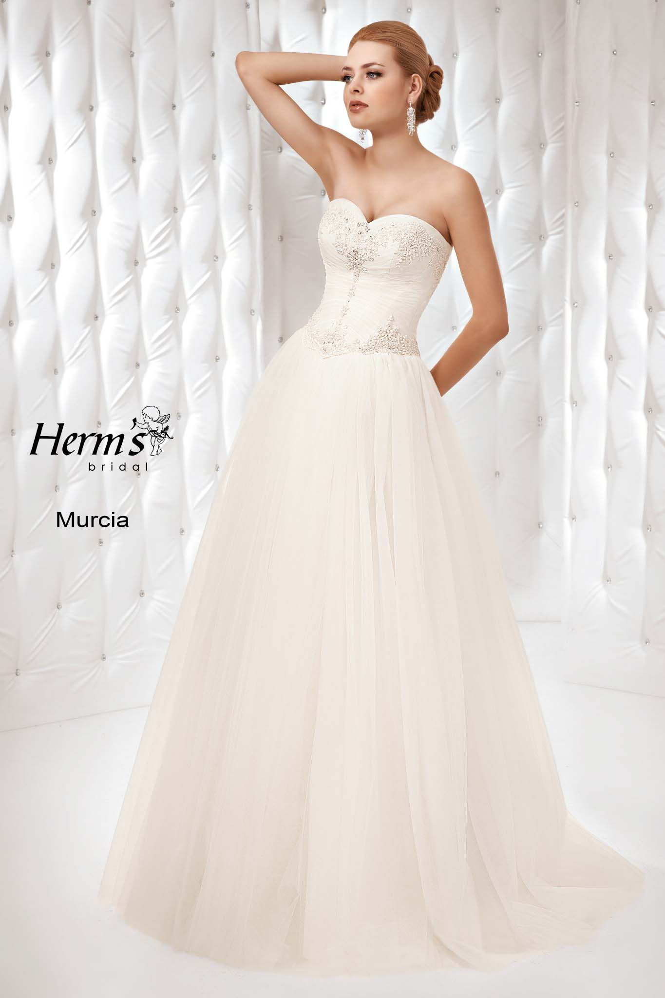 wedding dress Herm's Bridal Murcia