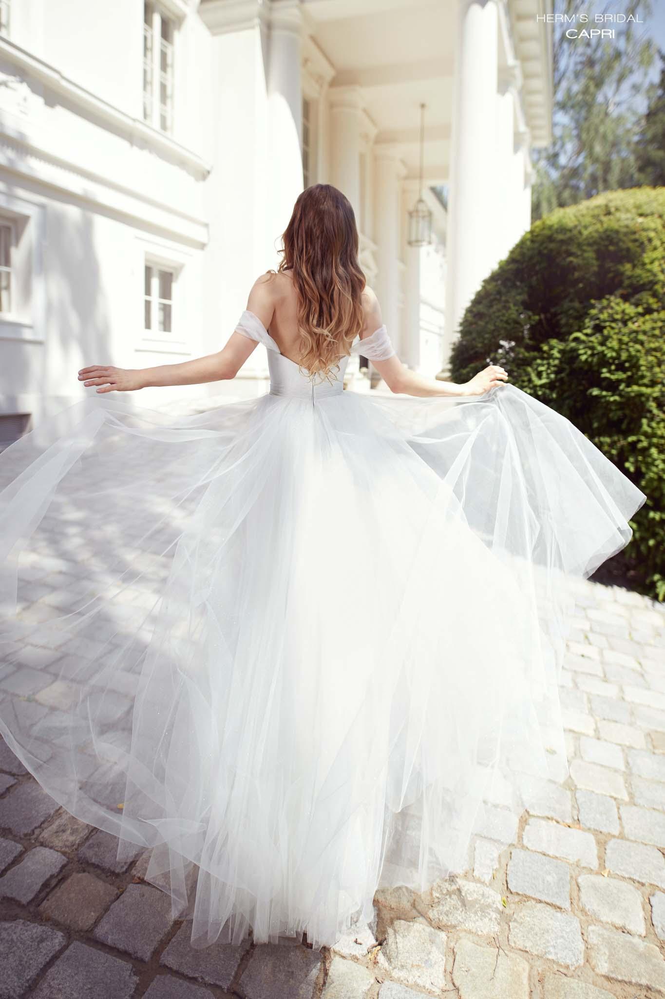 suknia slubna herms bridal Capri