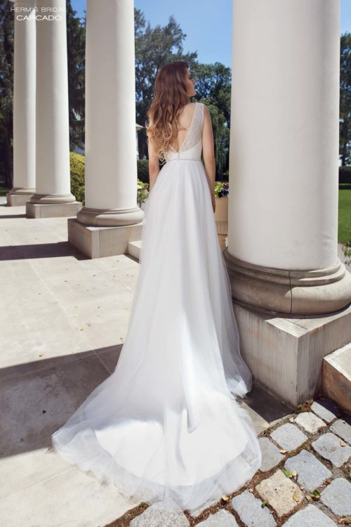 wedding dress herms bridal Carcado