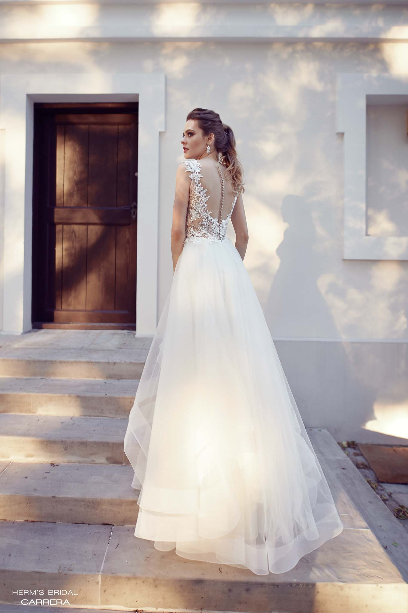 wedding dress herms bridal Carrera
