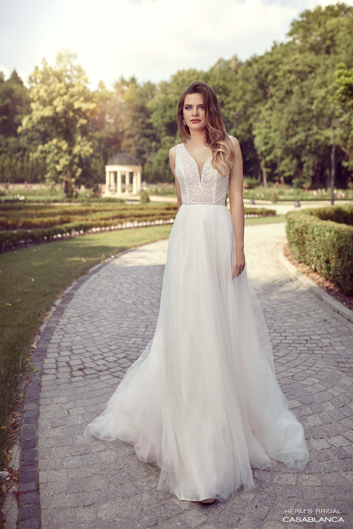 wedding dress herms bridal Casablanca