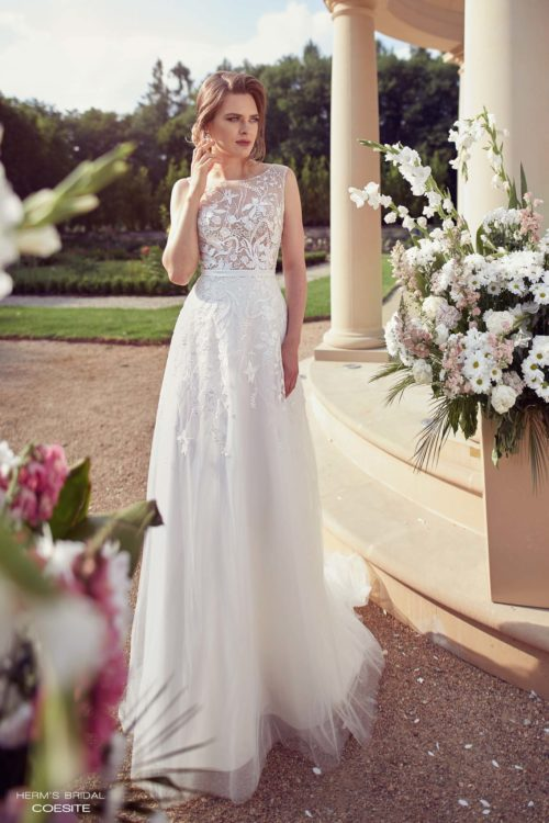 wedding dress herms bridal Coesite