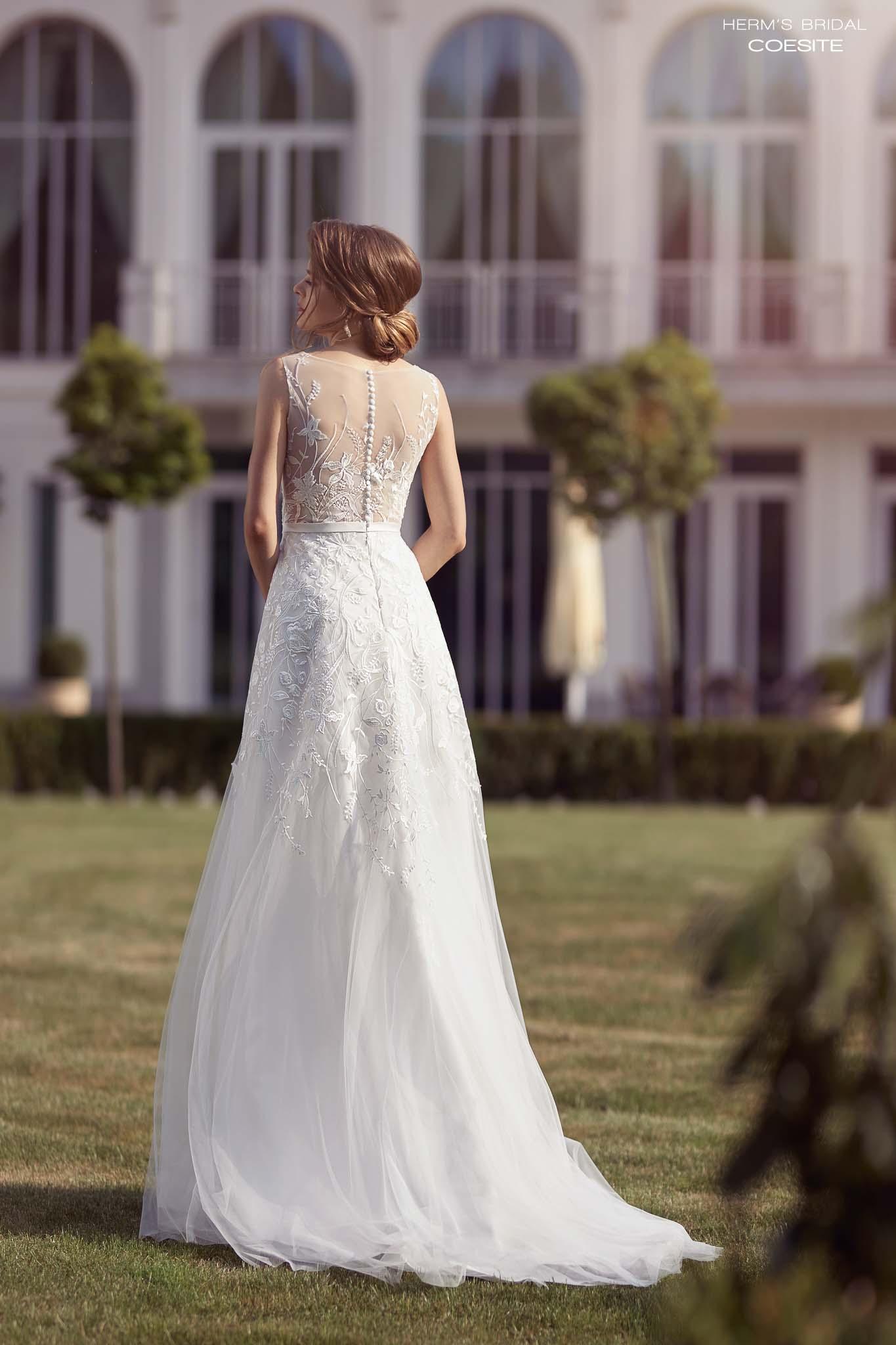 suknia slubna herms bridal Coesite