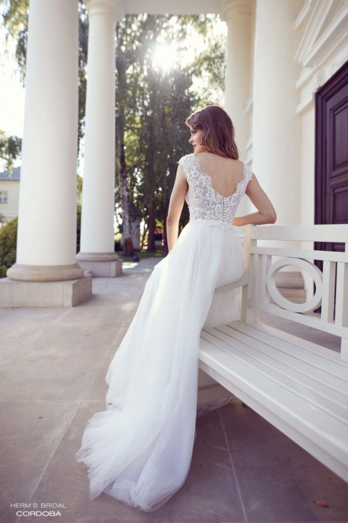 wedding dress herms bridal Cordoba