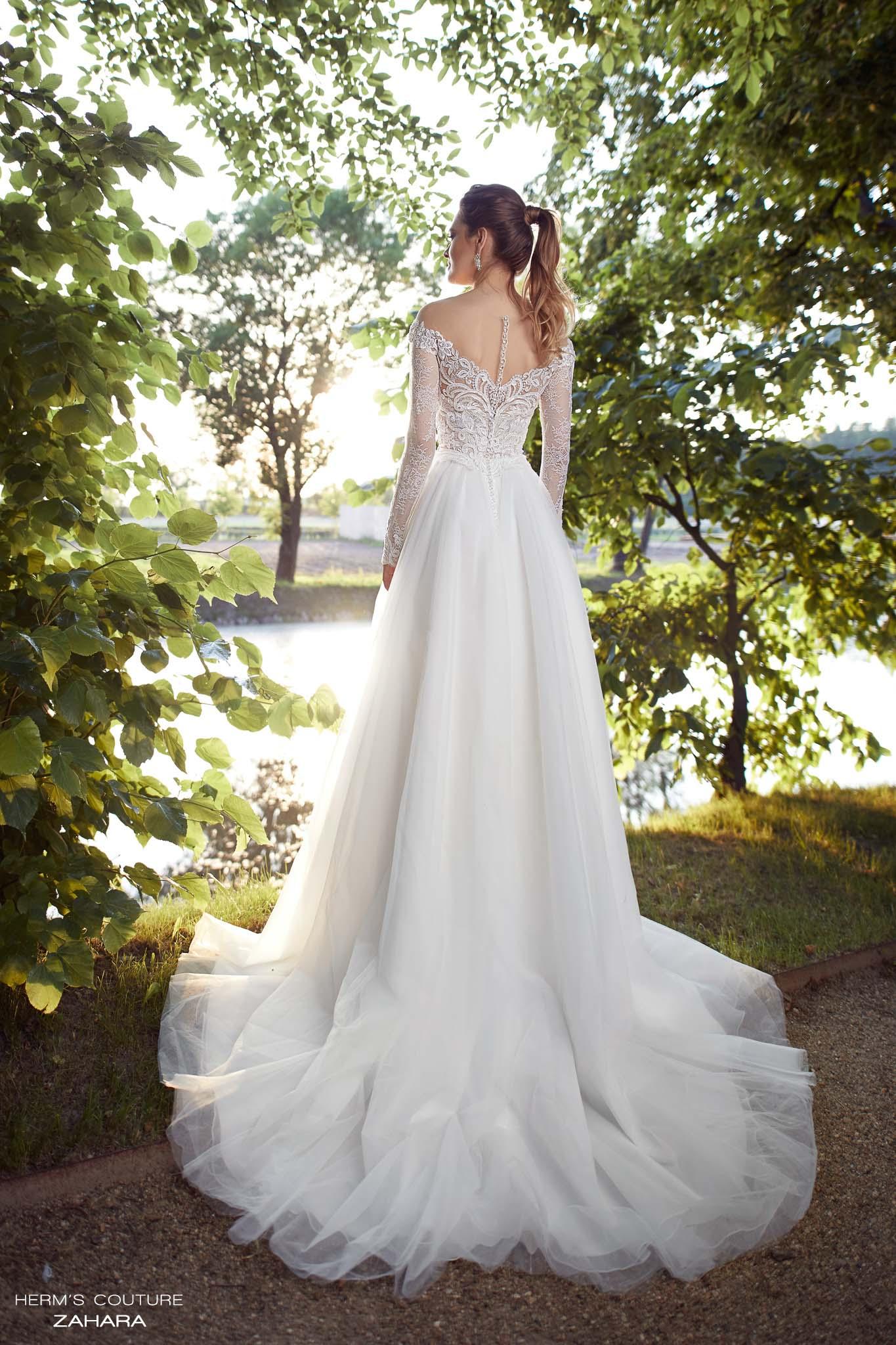 suknia slubna herms bridal couture Zahara