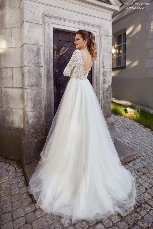 suknia slubna herms bridal couture Zanzibar