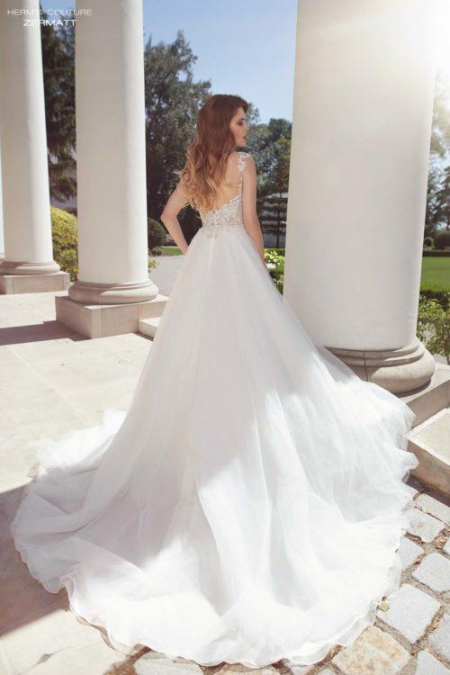 wedding dress herms bridal couture Zermatt