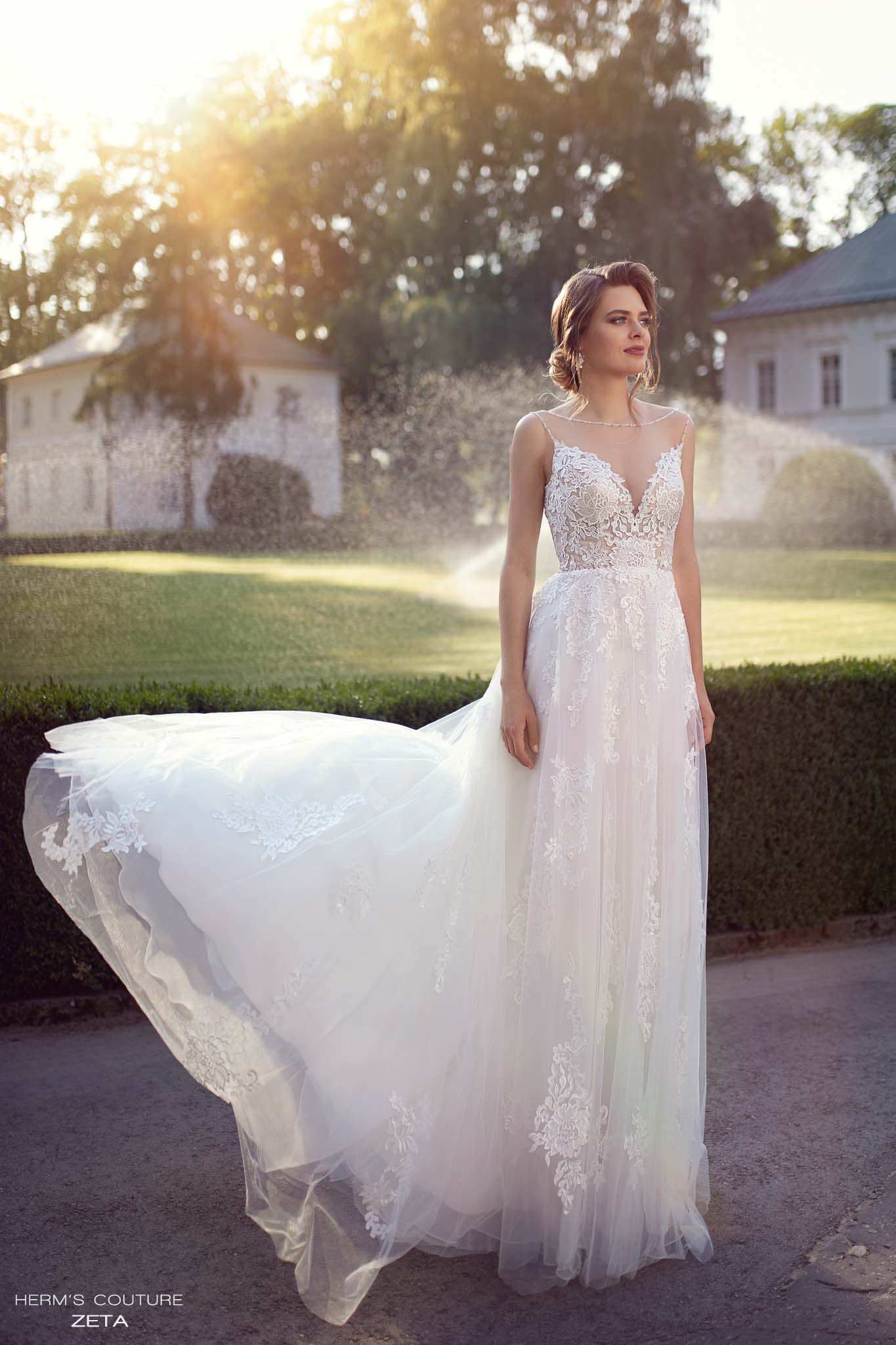 wedding dress herms bridal couture Zeta