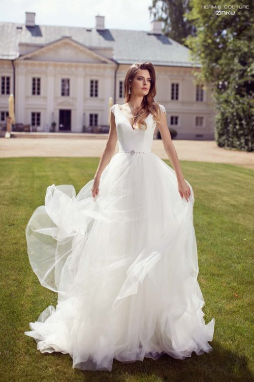 wedding dress herms bridal couture Zirku