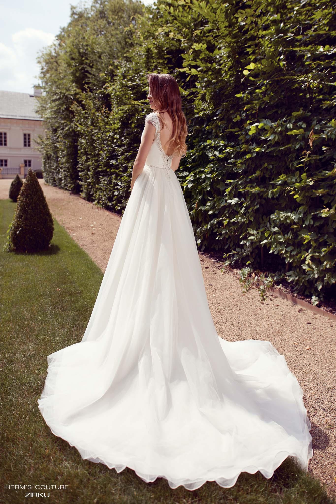 suknia slubna herms bridal couture Zirku