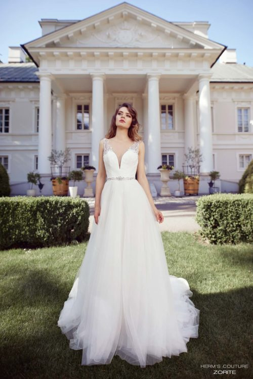 wedding dress herms bridal couture Zorite