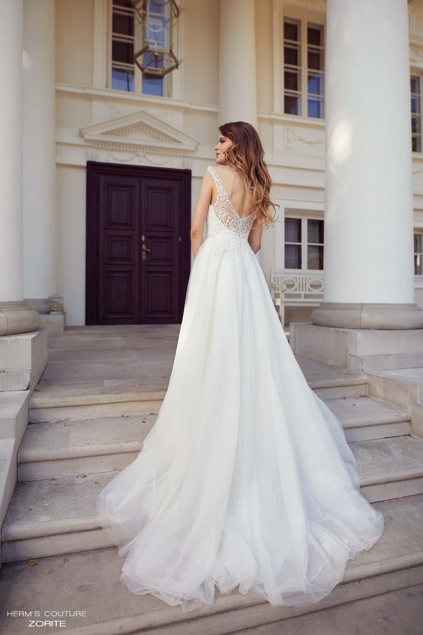 suknia slubna herms bridal couture Zorite