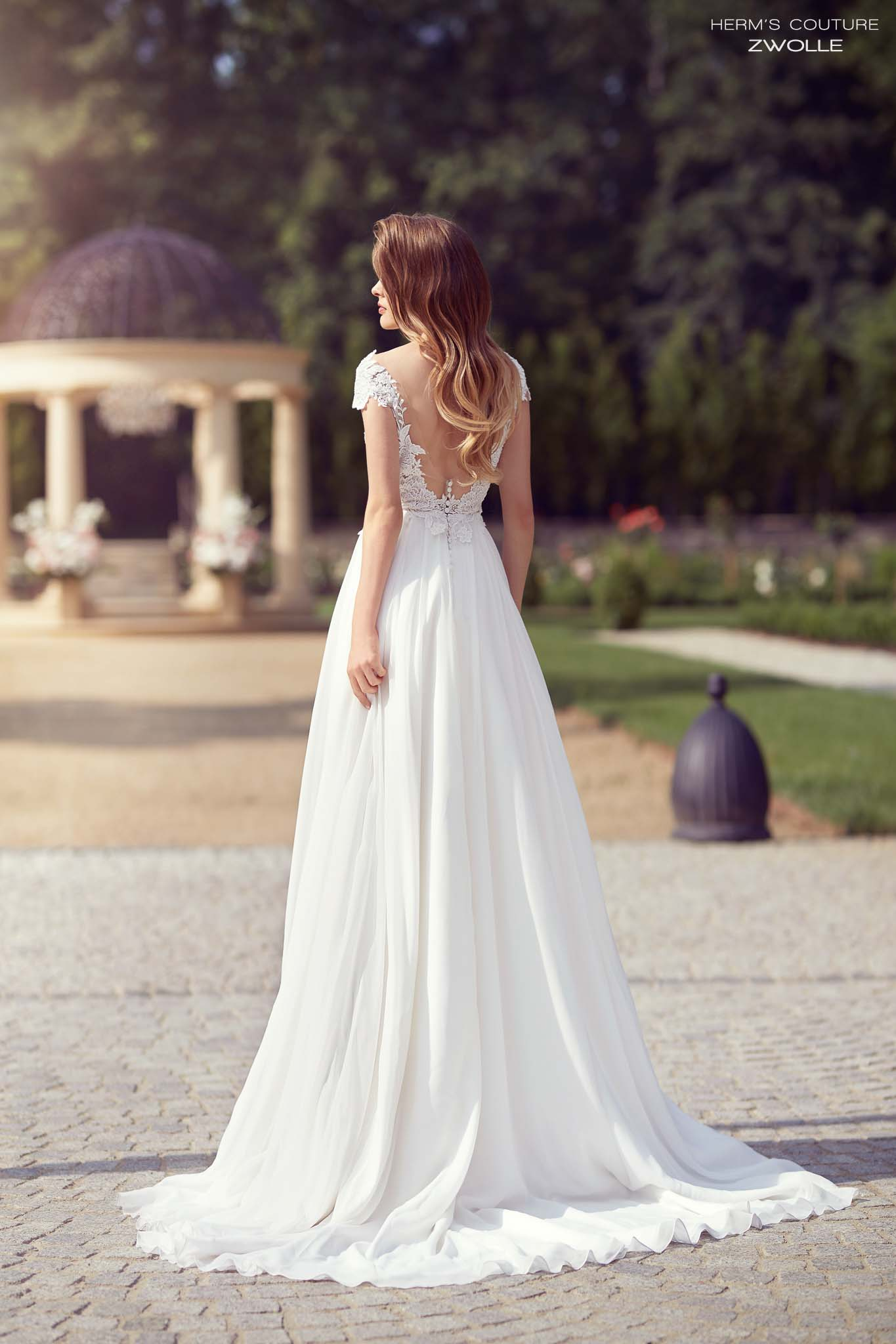 wedding dress herms bridal couture Zwolle