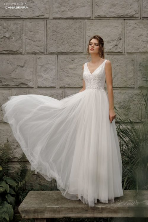 weddng dress herms bridal Canaberra