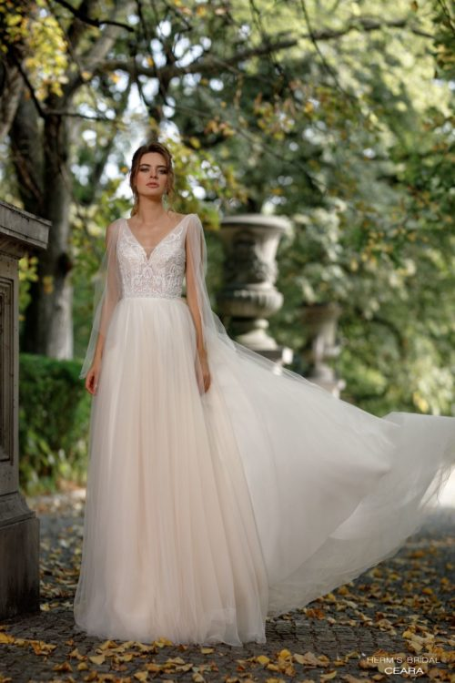 wedding dress herms bridal ceara