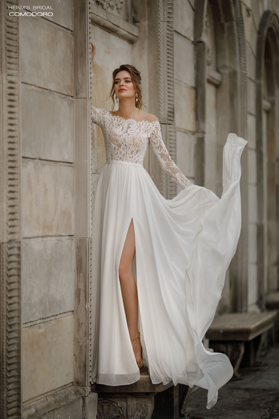 wedding dress herms bridal Comodoro