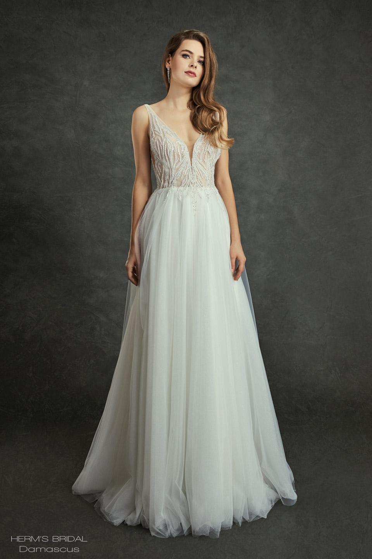 wedding dress Herms Bridal Damascus 1