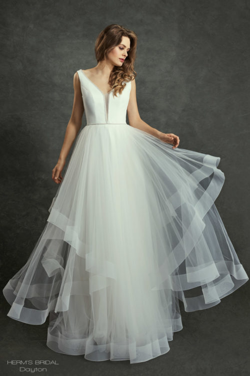 wedding dress Herms Bridal Dayton 1