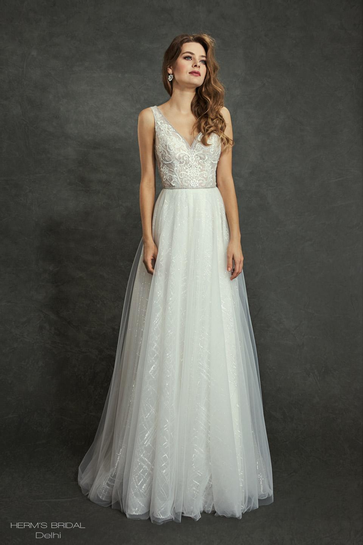 wedding dress Herms Bridal Delhi 1